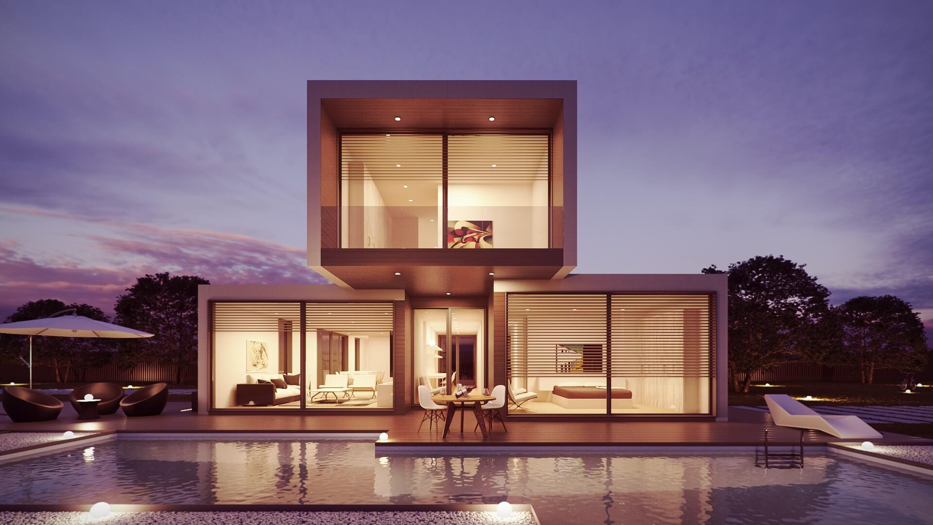 Villa in vetro