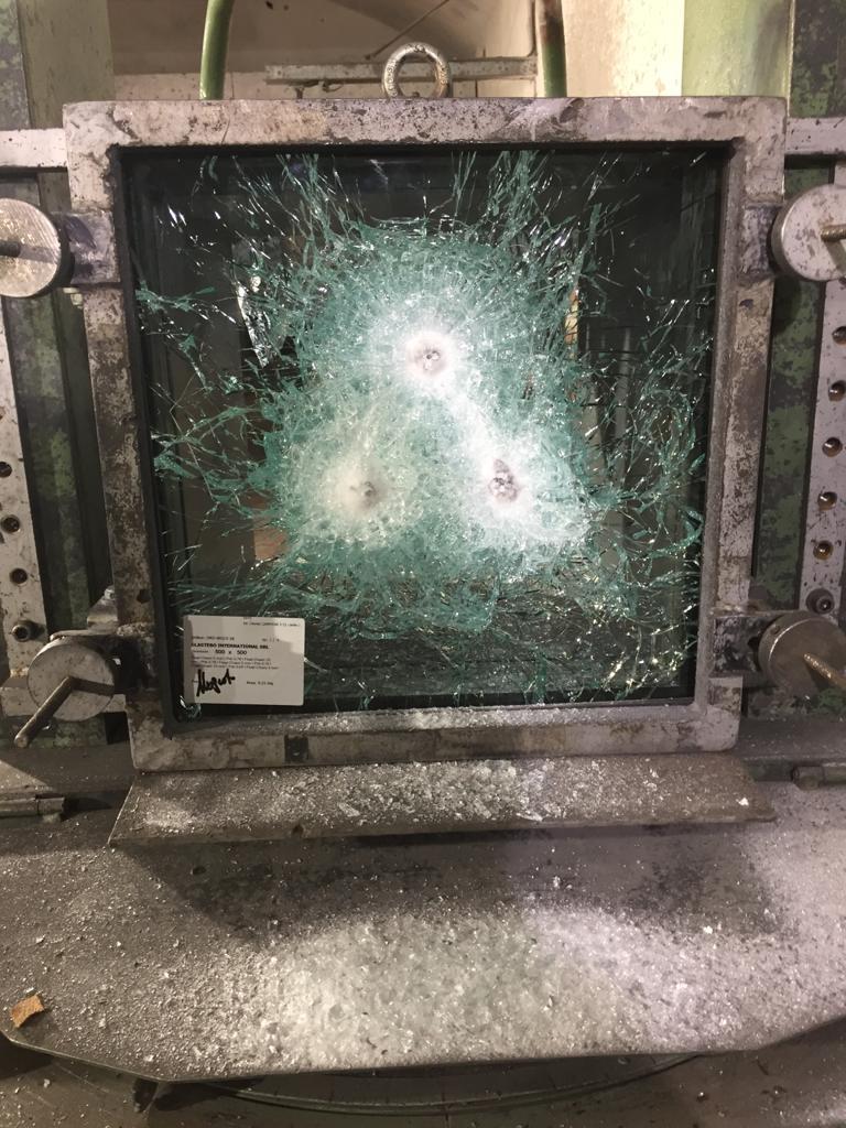 vetro anti proiettile