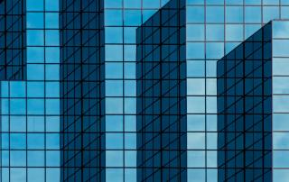 costruzione in vetro